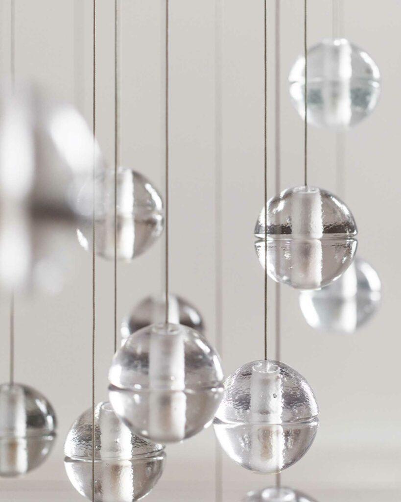Unsichtbare Architektur Bocci Glas